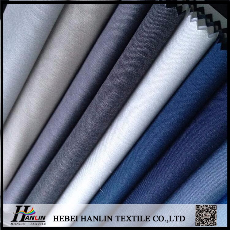 soild dyed tr plain twill gabardine suiting fabric, shirting fabric, uniform fabric