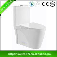China Supplier low price all American Countries round ceramic wc toilet