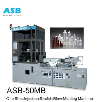 Baby's bottle stretch blow moulding machine ASB - 50MB