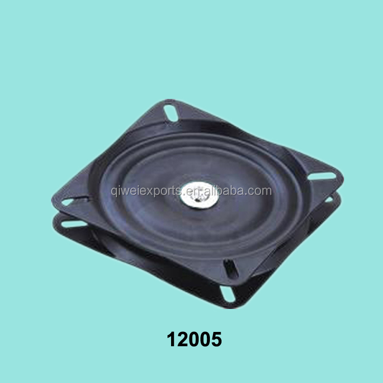 Square Furniture Ball Bearing Swivel Plate For Chair Base
