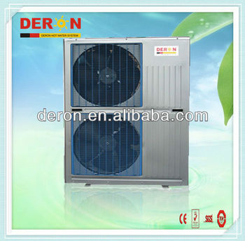 Green energy high efficiency air source heat pump with ce for Most efficient heat source for home