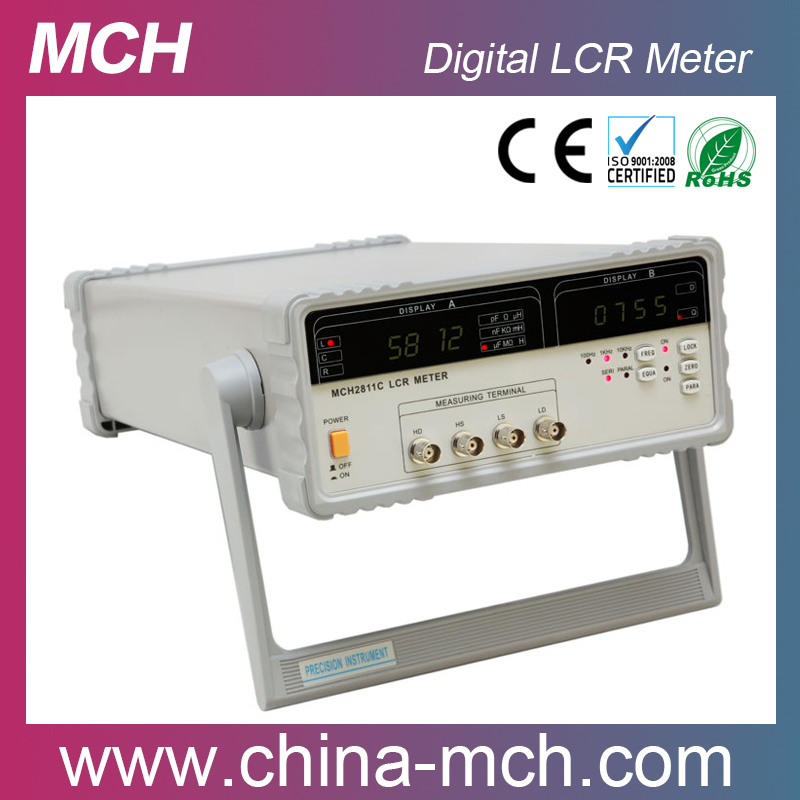 Laboratory testing equipment 10kHz Digital LCR Meter MCH-2811C for Electronic Industry