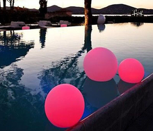 RGB color change solar pool ball led floating pool decorations balls of light for waterproof pool ball light