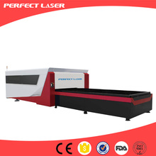 500w stainless steel sheet metal carbon fiber laser cutting machine with uploading table