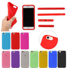 Wholesale Sale Soft Silicone phone case for iphone 7 , for Apple iphone 7 case mix colors
