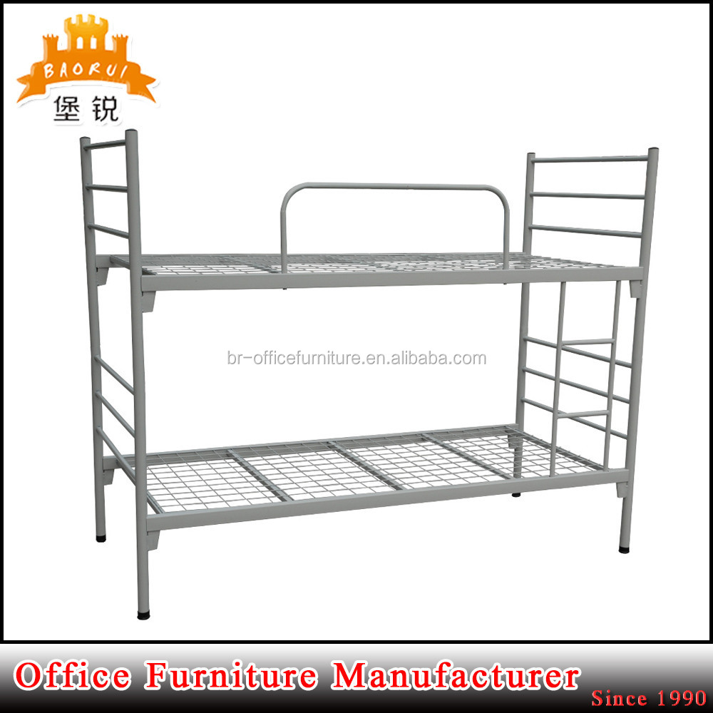 European market design steel furniture hot sale metal detachable bunk bed for home