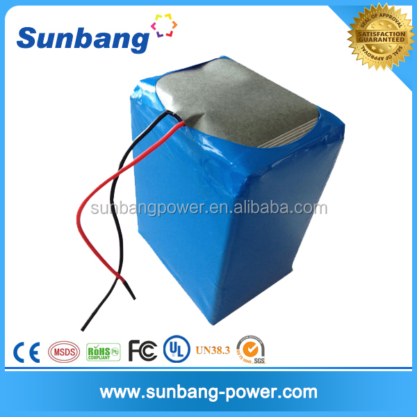 wholesale customized rechargeable 10ah 12ah 20ah 12s lipo battery