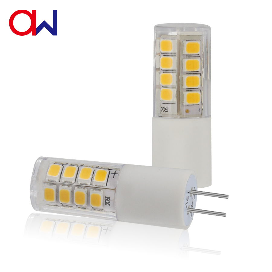 360 Degree G4 LED Lamp, G4 Ceramic Bulbs SMD LED Light made in China, G4 LED Bulb 12V AC DC 26SMD 2835