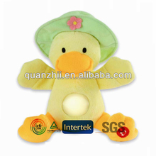 Kids toys plush duck with music