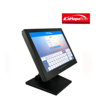 Chinese supplier low cost 10 inch lcd medical touch screen monitor