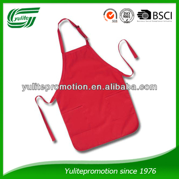 65% polyester 35% cotton cooking apron