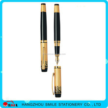 Business Industrial white feather metal fountain pen