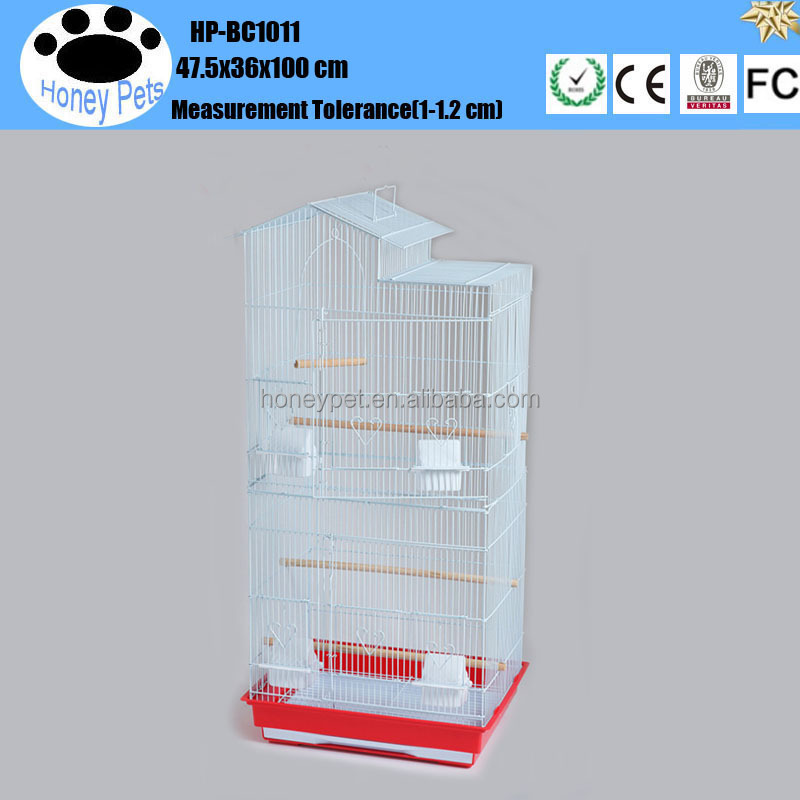 HP-BC11 pet pretty beautiful wire bird cages canary breeding for sale
