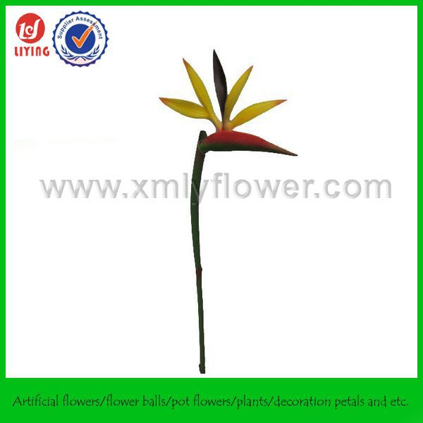 "36"" PU Flower Bird of Paradise Plant,Natural Touch Artificial Bird of Paradise Flower"