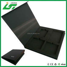 High quality magnetic closure large cardboard gift boxes with hinged lid