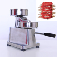 130mm burger patty making machine