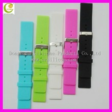 Men's silicone watch band black, silicone watch bands for apple watch and swatch fashion elegant wide grand for unisex