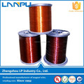Hot sale 155class swg38 39 40 polyamide imide enamelled copper wire for dry transformer
