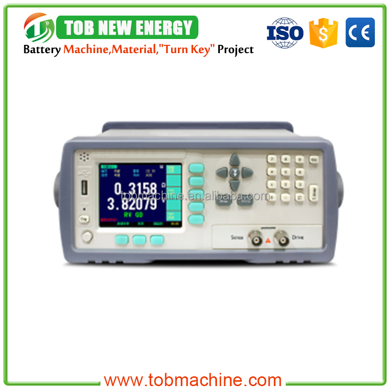 Battery Voltage Internal Resistance Tester With ESR System For Supercapacitor Testing