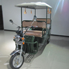 2015 classic model high power six-seater battery operated rickshaw with fiber roof