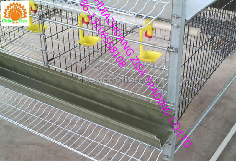 4tiers x 4cell H type layers cage egg chicken cage