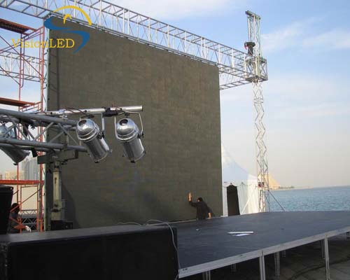 High definition prefessional manufacturer P8 outdoor led display for stage performance