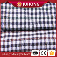 Cotton broadcloth fabric checked blouse fabric