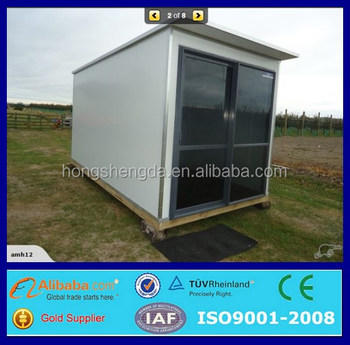 cheap new prefabricated small 1 bedroom mobile home