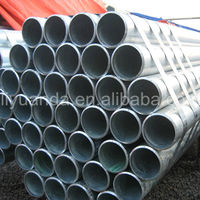 supply best price of hot dipped galvanized steel pipe(BS1387,ASTM A53,GB/T3091-2001