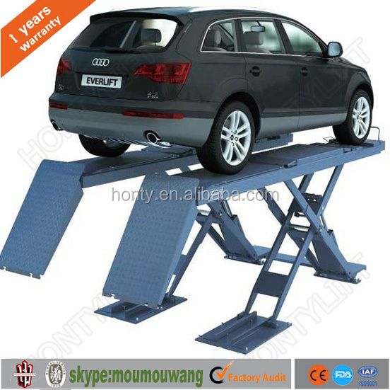 hontylift motorcycle lift table /double scissor car lift with CE approved professional expert