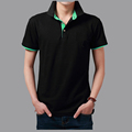 180gsm 95% cotton 5% spandex polo men shirts, plain polo t shirts, oem polo shirts