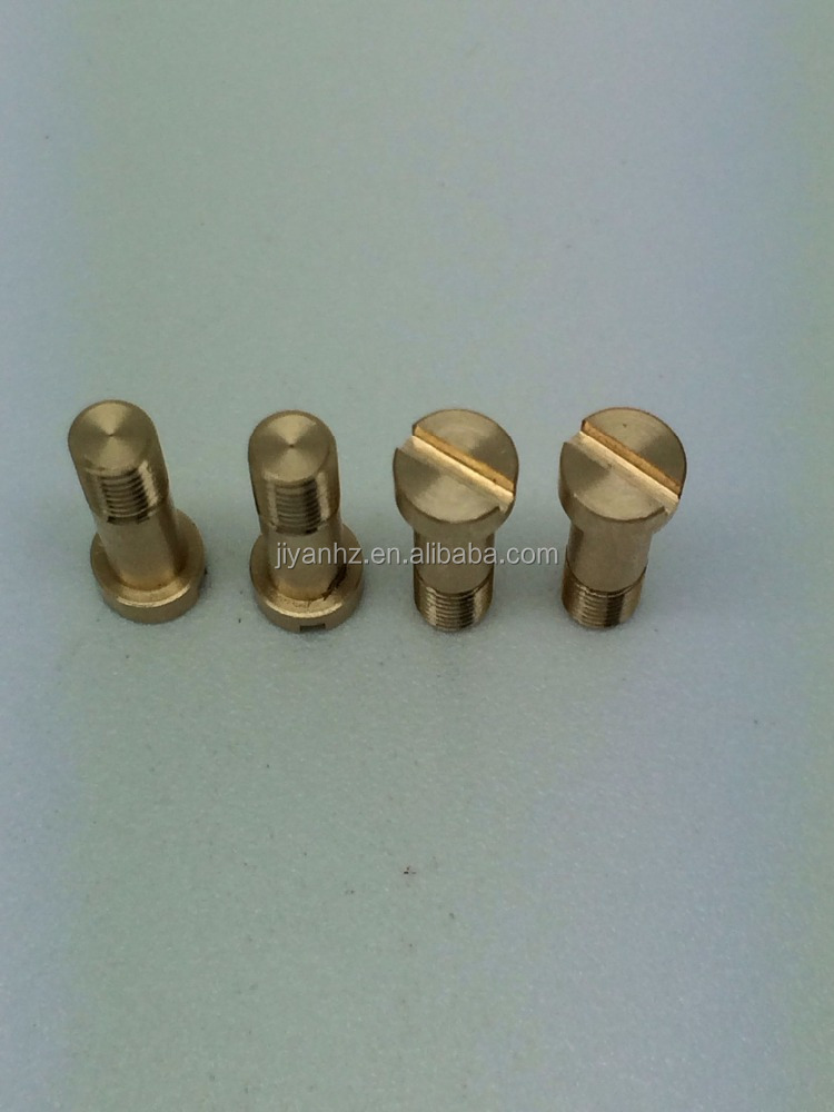 OEM factory produce custom made stainless steel brass aluminum stud pin