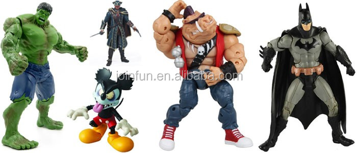 OEM personalized action figures,Custom plastic action figures,4inch plastic cheap action figures
