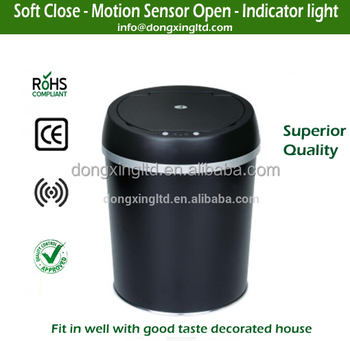 Home use 6 Litres Round Auto Sensor Dust Bin