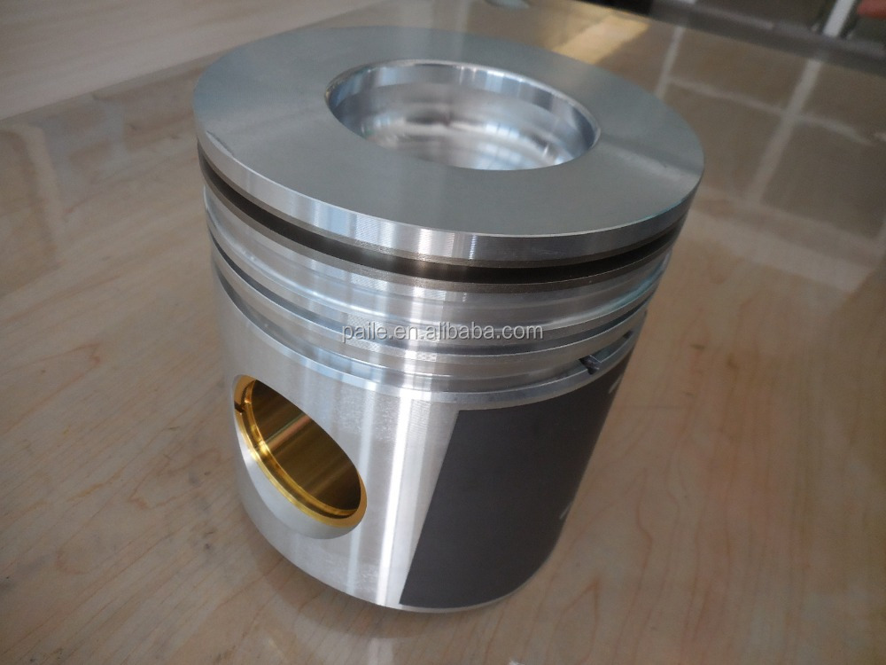 DIESEL GASOLINE ENGINE PISTON WITH PIN CLIPS MERCEDES OM355 136/176.5KW(185/240PS) 128