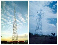 Telecom Towers, Masts, Electrical Transmission Line Towers, Poles, Meteorological Towers