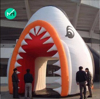 5x5x6.5meter factory customized hot sale PVC inflatable advertising tent for sale