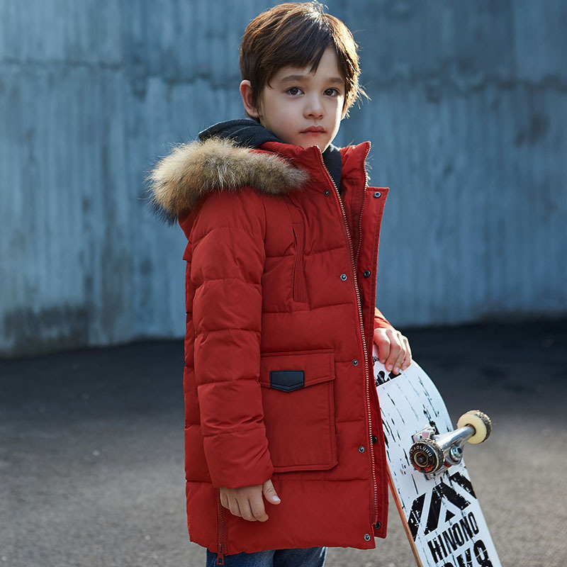 Newest design clothes for children boy's winter down jacket baby boy cool coat