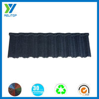 Noise resistant stone coated metal roofing/Sand coated tile roof