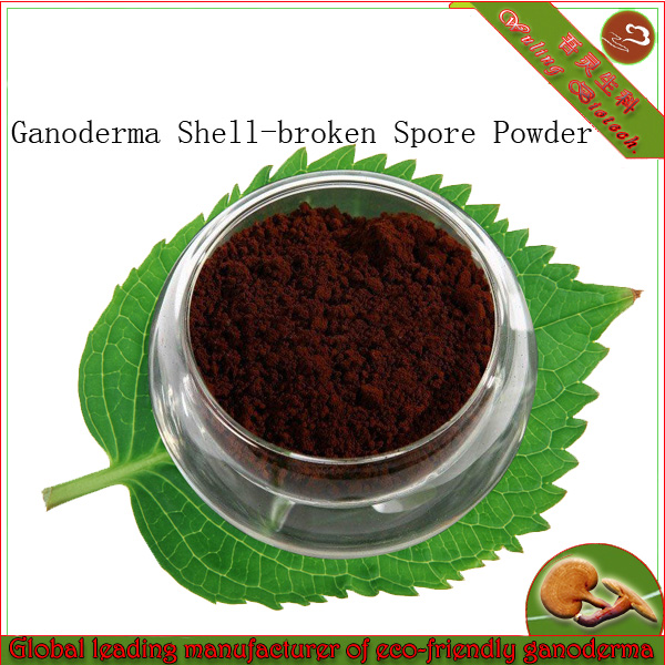 King of Chinese herbs Ganoderma Shell broken spore powder