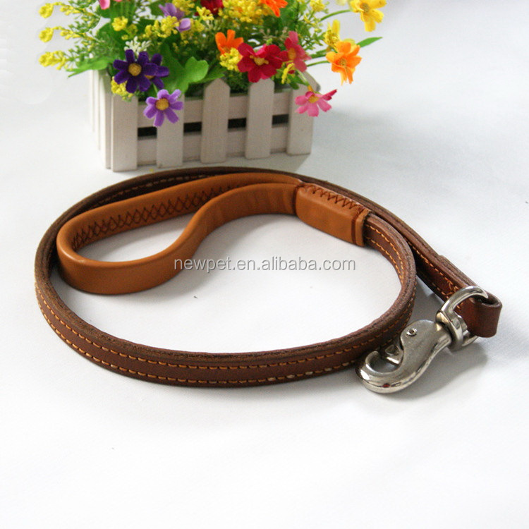 Cheap eco-friendly reasonable price two-layers thicken dog traction belt dog show collars