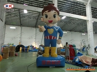 4 m H , Interesting inflatable advertising cartoon boy