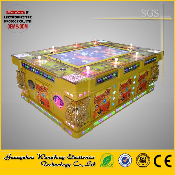 Fish Hunter Enhanced Version arcade fishing game machine/video game consoles refurbished