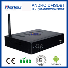 china manufacture 2017 new OEM quality mstar full HD mpeg4 Peru isdb-t digital tv decoder set top box