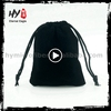 Manufacturing customized jewellery travel pouch, jewellry bag, velvet jewellery pouch