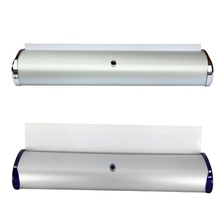 free shipping advertising aluminum large roll up banner stand