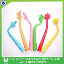 Flexible Gesture Silicone Hand Finger Logo Pen