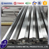 factory manufacture hot rolled pickled cold drawn bright 321 stainless steel hexagon bar
