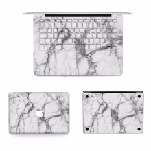 Removable custom laptop skin for macbook full body decal