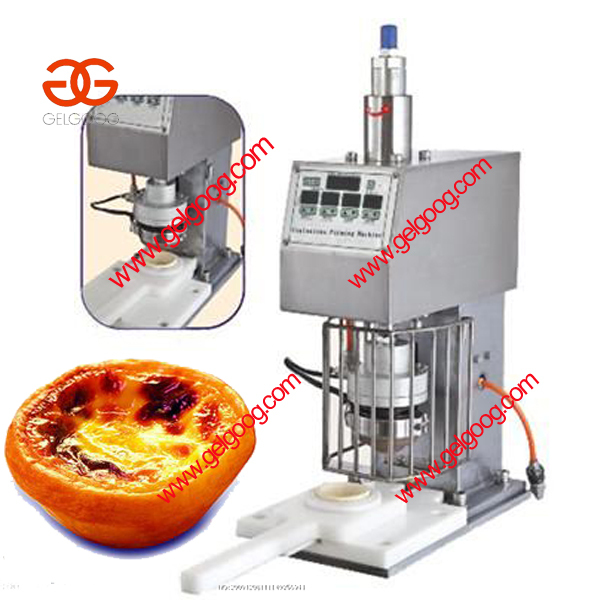 Semi-Automatic Continuous Crust Tart Forming Machine|tart pie making machine